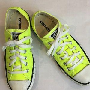 Converse Neon Highlighter Yellow/